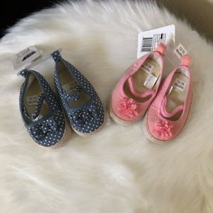 2 pairs of baby shoes- pre walker